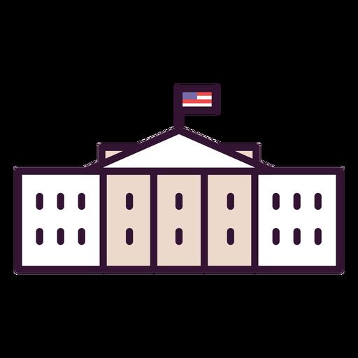 Icono de la casa blanca usa
