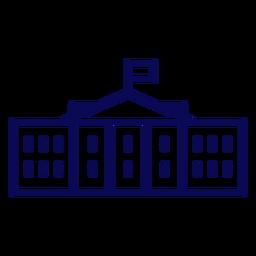 Weißes Haus USA Schlaganfall