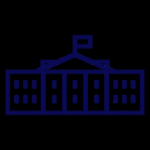 White house usa stroke