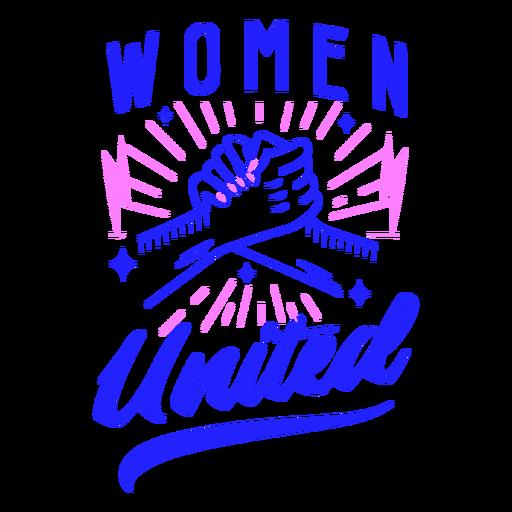 Women united badge design