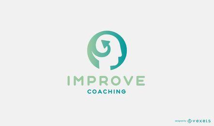 Verbessern Sie das Coaching Logo Design