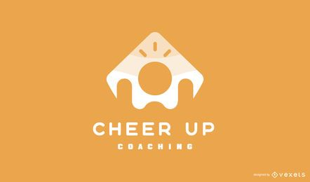 Aufmunterung Coaching Logo Design