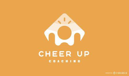 Design de logotipo do Cheer Up Coaching