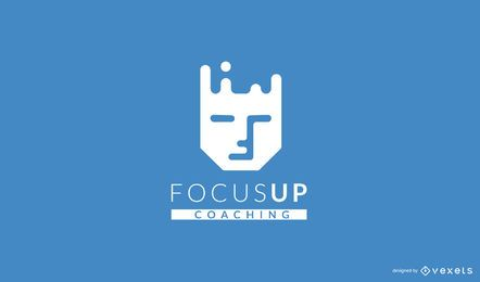 Design de logotipo do Focus Coaching