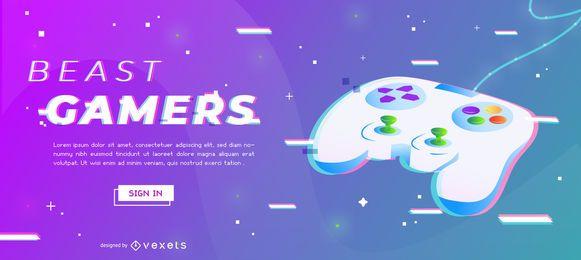 Design de Slider para Gamers