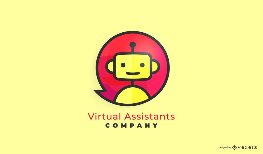 Virtual Assistant Business Logo Design