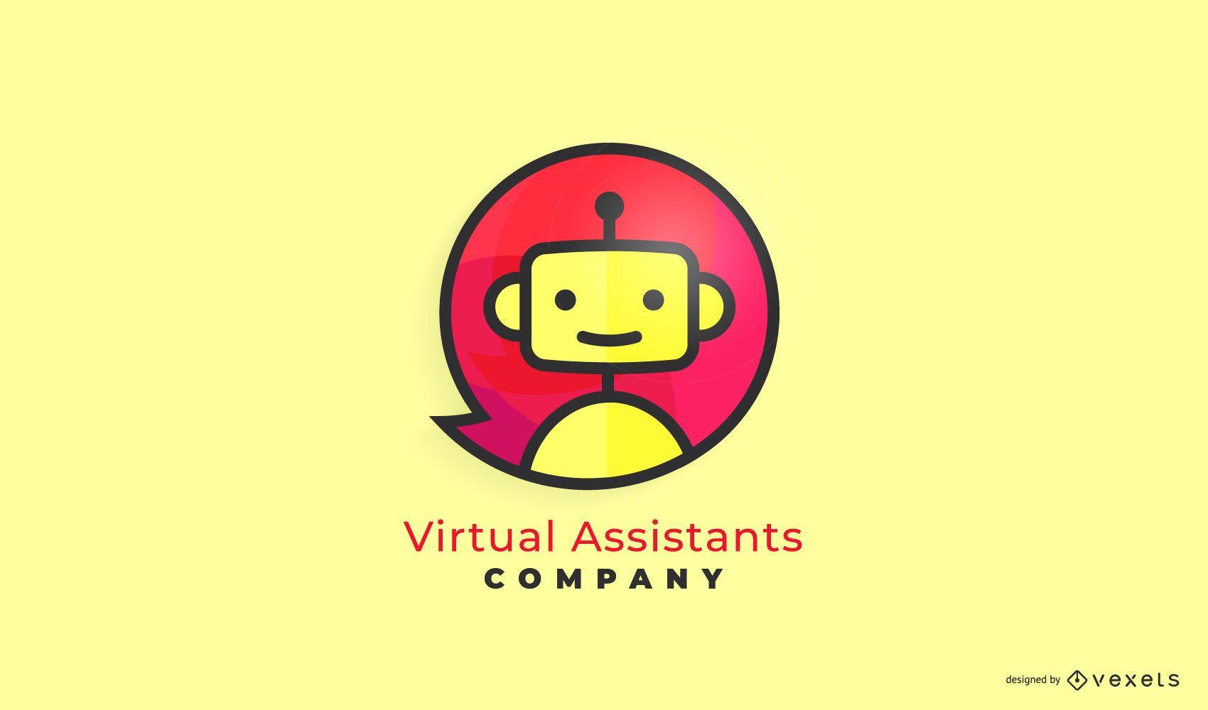 Virtual Assistant Business Logo Design