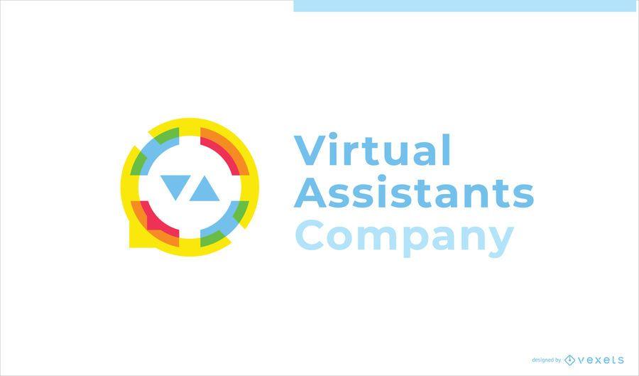 Asistente Virtual Negocio Diseño de Logotipo Personalizado
