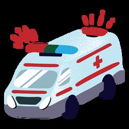 Ambulancia texturizada
