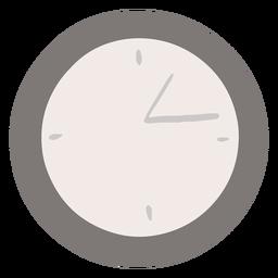 Reloj analógico plano