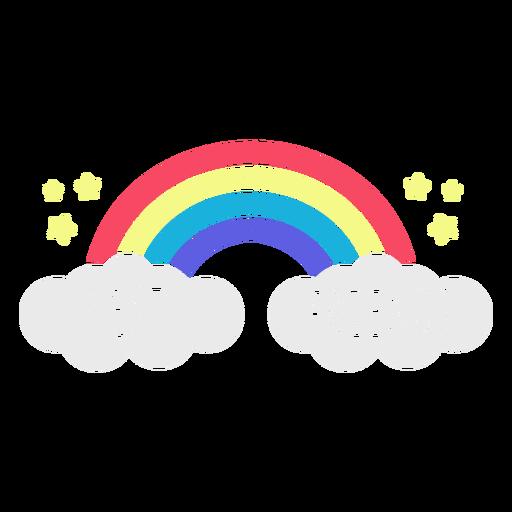 Best friends rainbow