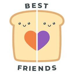 Melhores amigas de brinde