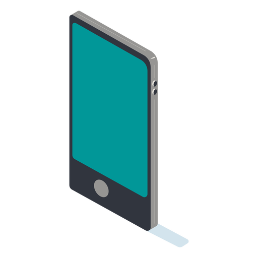 Cellphone isometric Transparent PNG