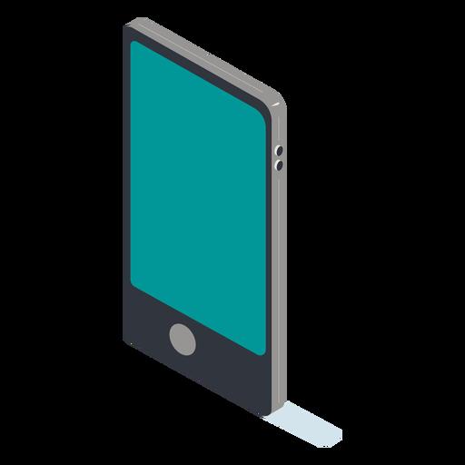 Teléfono celular isométrico Transparent PNG