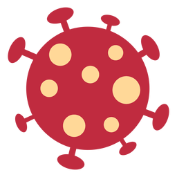Icono de coronavirus covid19