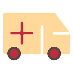 Covid19 ambulance icon