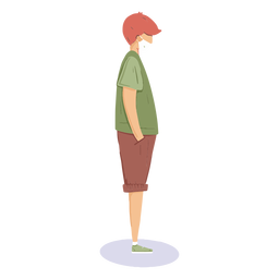 Covid19 guy character