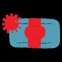 Covid19 soap duotone