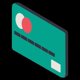 Credit card isometric