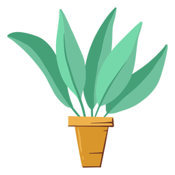 Cute houseplant illustration