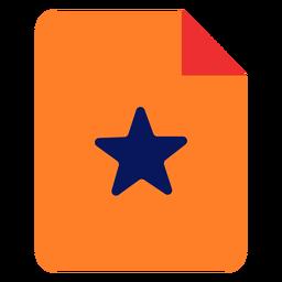 Icono de documento favorito
