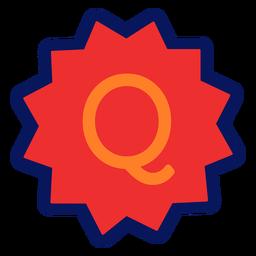 Icono q de comercio electrónico