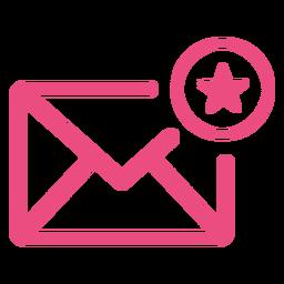 Curso de ícone de email