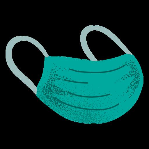Mascarilla con textura Transparent PNG