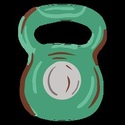 Peso plano de kettleball