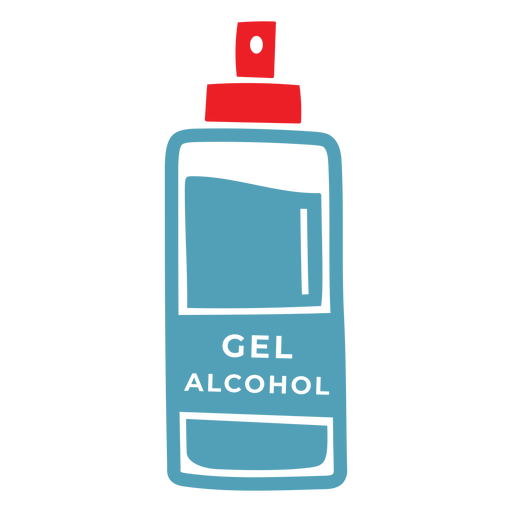 Gel alcohol duotone