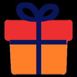 Icono de regalo plano