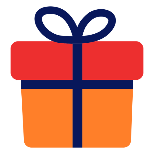 Gift icon flat Transparent PNG
