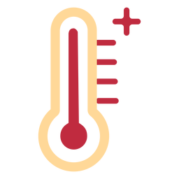 High thermometer icon