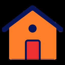 Icono de la casa plana
