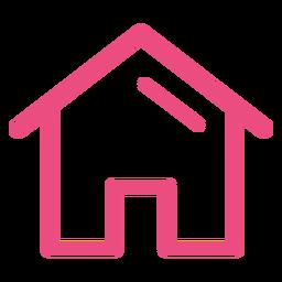 Traço de ícone de casa