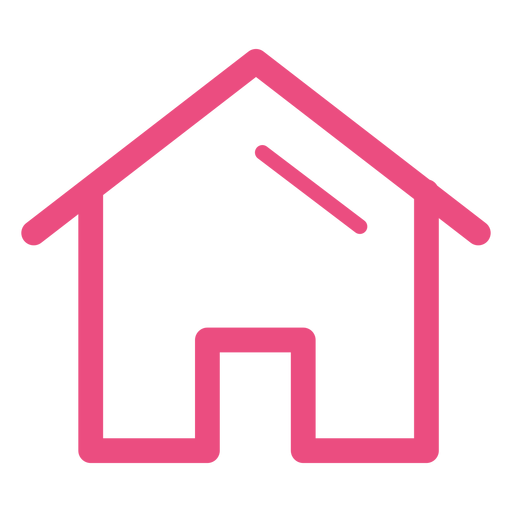 House icon stroke Transparent PNG