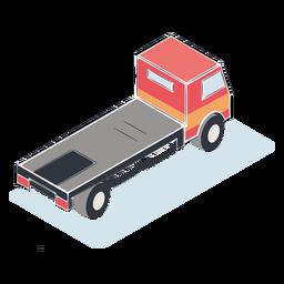 Camion isometrico sin carga