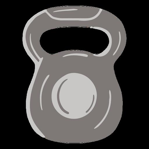 Kettleball weight flat