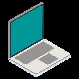 Isométrico de laptop