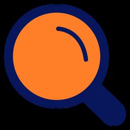 Icono de lupa lupa