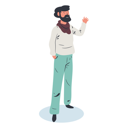Man character isometric Transparent PNG