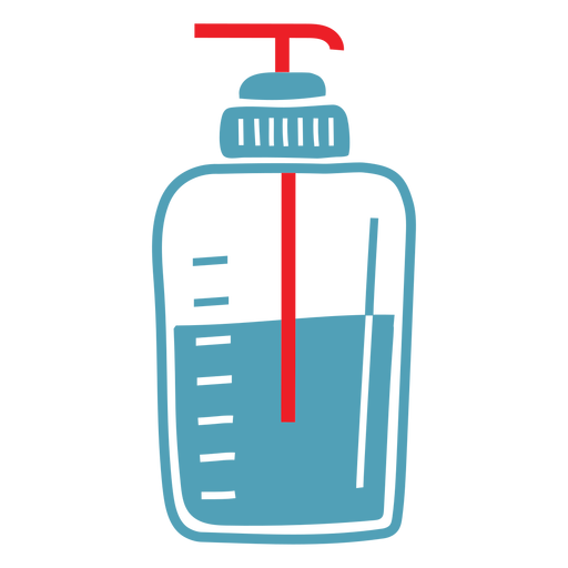 Medical alcohol duotone