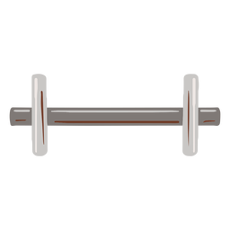 Metal weight flat