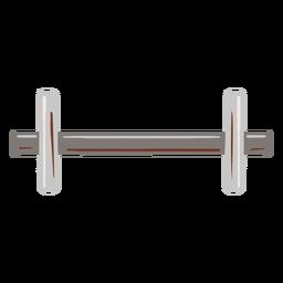 Peso do metal plano