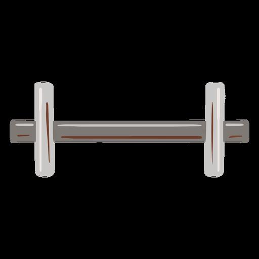 Peso de metal plano