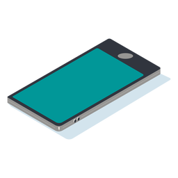 Mobile phone isometric