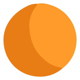 Orange ball icon