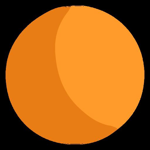 Icono de bola naranja