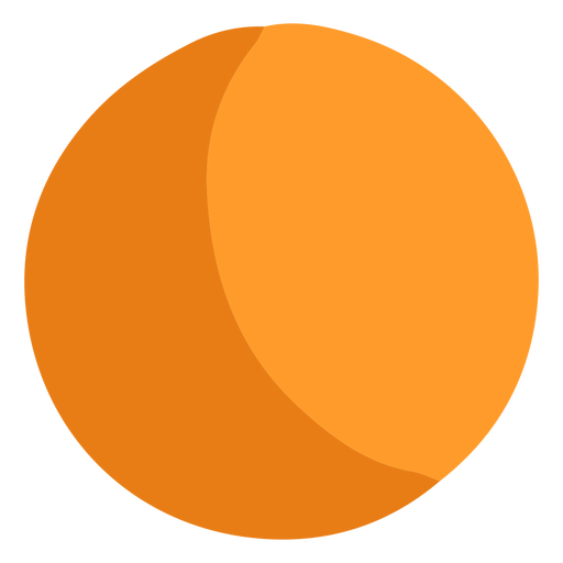 Orange ball icon Transparent PNG