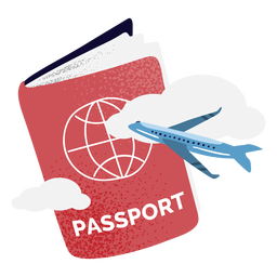 Pasaporte texturizado